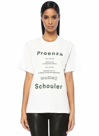 Proenza Schouler Tişört Beyaz